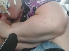 Hwy Backseat BJ and Swallow Part 7 of 7 porn tube video