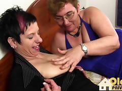 Old ugly lesbians porn tube video