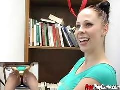 Gianna Michaels Classroom Titfuck and Masturbation porn tube video