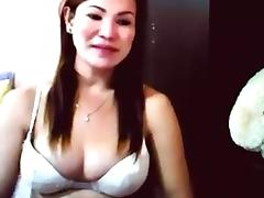 Real Filipina Hermaphrodite Skype Show 6 tube porn video