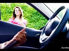 BBC dick flash girl watching black guy masturbating in car porn tube video