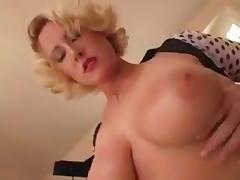 Big Tits, Big Tits, Blowjob, Fucking, Interracial