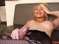 Shemale Nathy Vacua Dirty Interview porn tube video