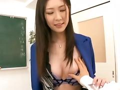 Beauty with long legs gets to ride an erected boner porn tube video