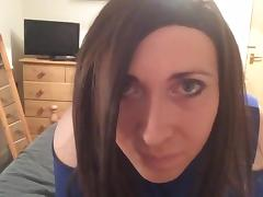 Crossdresser tease for you tube porn video