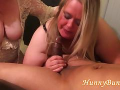 Big Butt Cuckold Wife BJ Fuck Threesome porn tube video
