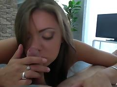 Povbitch - Big girl with big ass suck cock to cum on pussy