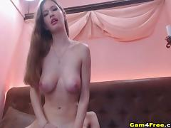 Pretty Babe With Big Natural Tits Fuck In Pussy tube porn video