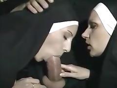 Two nun tube porn video