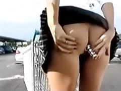 Au magasin sans culotte plug dans le cul porn tube video