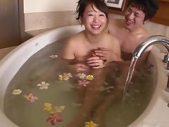 Bath, Asian, Bath, Couple, Hardcore, Japanese