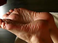 SPERM Therapy for Lyn's Dry Feet - Part 5 (Conclusion). porn tube video