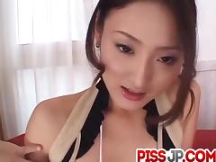 Risa gets creamed after a nasty cock sucking show porn tube video