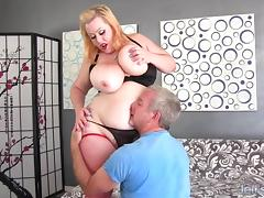 Big ass and boobs girl takes fat cock porn tube video