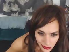 tranny dildo fuck with surprise porn tube video