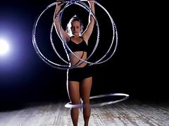 Sexy hula hoop dancers compilation porn tube video