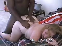 Interracial FFM With Blonde BBW + Busty Redhead porn tube video