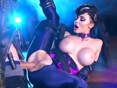 Busty milf ravished in kinky fetish xxx show porn tube video