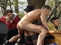 Attilia Picks Up The Hot Goddess Gina Outside porn tube video