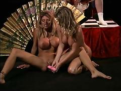 April and her favorite friend are going lesbian in the oriental way porn tube video