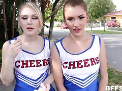 Audition, Audition, Casting, Cheerleader, Foursome, Group