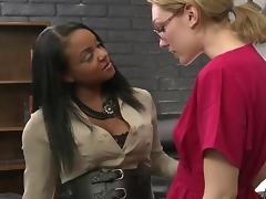 Sinnamon Love playing with Lily LaBeau