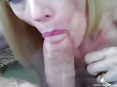 Cock suck By The Backyard Pool From Mom