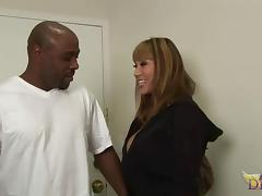 Ava Devine has a massive black dick up her tight anus