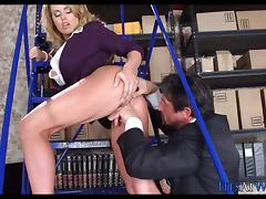 Getting it on in the shipping Warehouse porn tube video