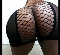Big ass booty shake