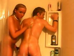 Bathing, Amateur, Bath, Bathing, Bathroom, Couple