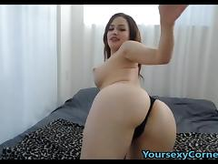 Godly Creature With Her Wet Pussy And Anal Plug porn tube video