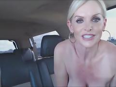 Car, Big Tits, Boobs, Car, Couple, Cum