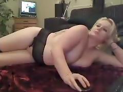 Chunky, BBW, Big Tits, Blonde, Blowjob, Chubby