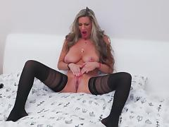 Real MILF with big chest and hungry ass porn tube video