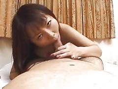 Asian pleases with POV oral