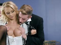 Boss, Blonde, Boss, Erotic, Office, Pornstar
