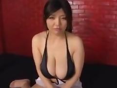 Japanese Titty fuck tube porn video