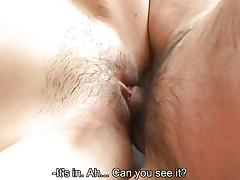 Asian girl with a huge vagine getting her man satisfied