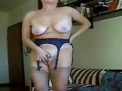 Granny masturbation perfection