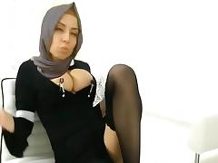 sikensikene turkey hijab turbanli booty 713