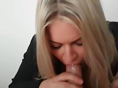 Amateur bj cumshot porn tube video