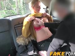 Car, Anal, Assfucking, Big Tits, Blonde, Boobs