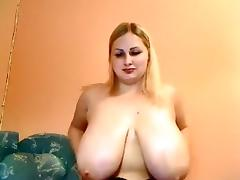 Incredible Homemade record with BBW, Solo scenes