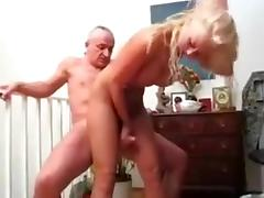 Daddy, Big Tits, Blonde, Grandpa, Old Man, Grandfather