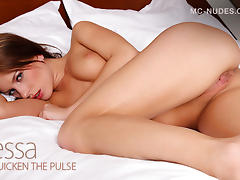 Nessa in Quicken The Pulse - MCNudes porn tube video