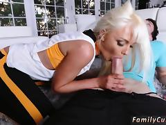 Daddy and young girl Stretching Your Stepmom tube porn video