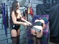 The penalty for the redhead slaves porn tube video
