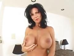 Busty mature anal free video