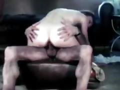 Vintage DP for a college girl porn tube video